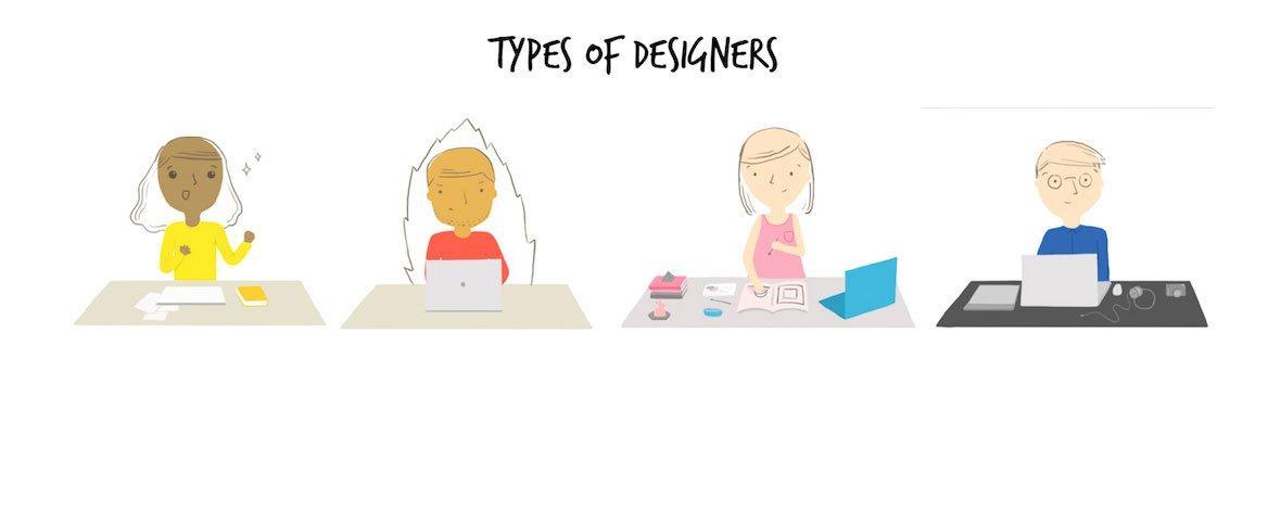 I 7 tipi di designer che puoi incontrare in agenzia
