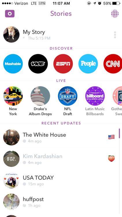 9 10 funzionalità di Snapchat che vorremmo avere