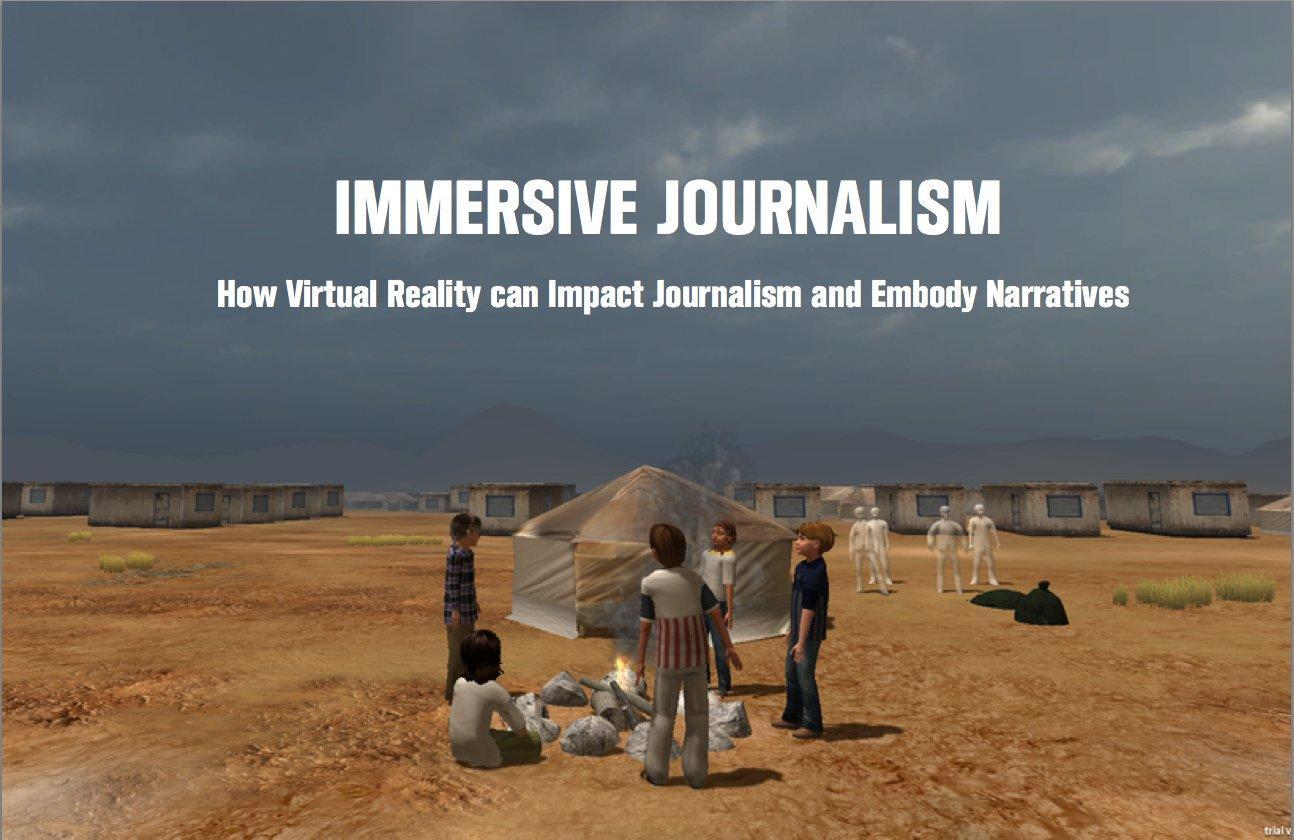 Tra Storytelling, Tech e Informazione: come è nato e in cosa consiste l'Immersive Journalism