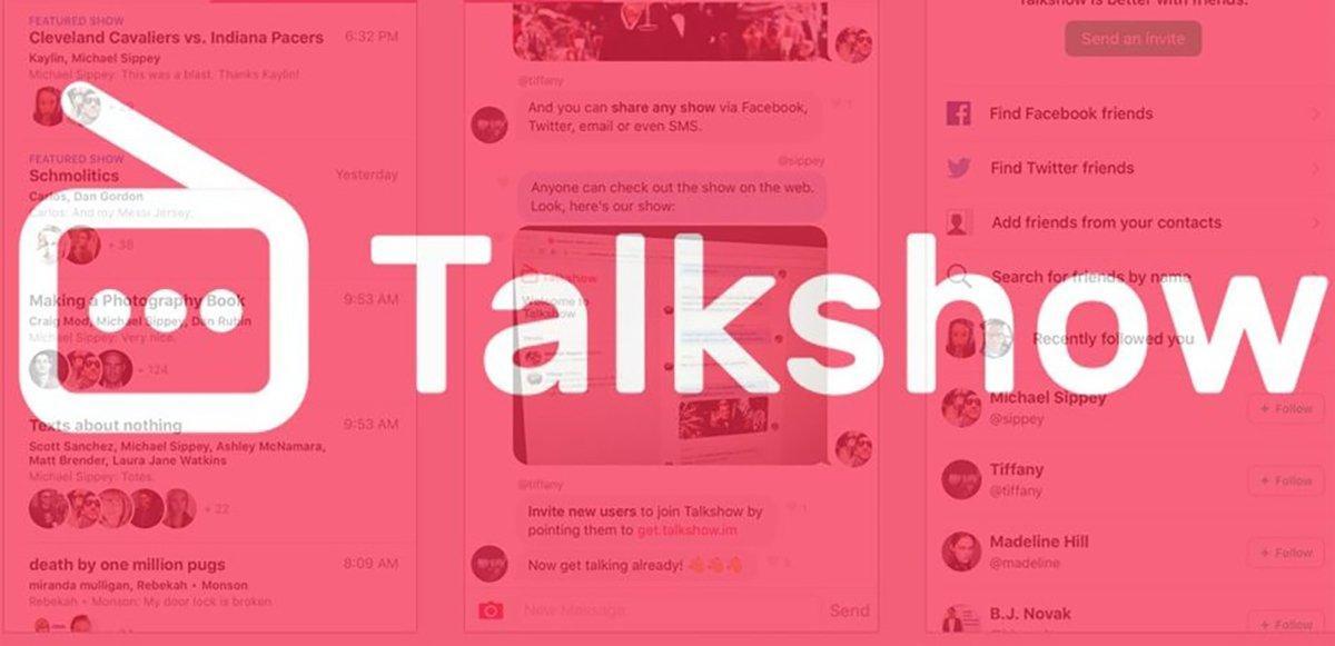 Ecco Talkshow, l'app che aggiunge il pubblico ai messaggi
