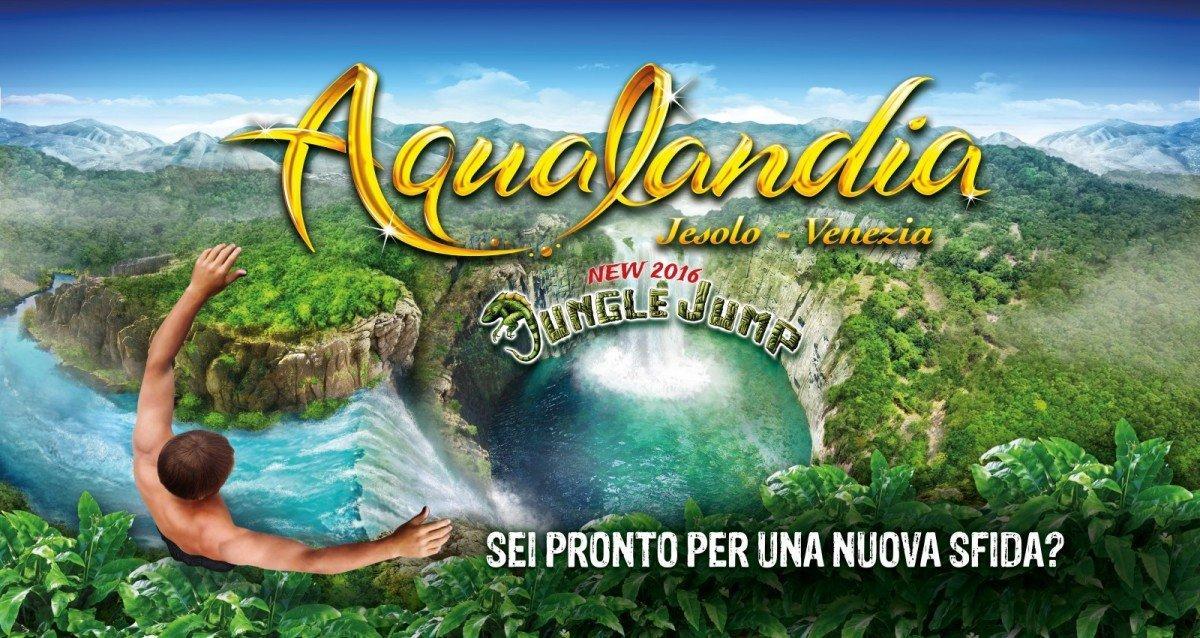 locandina Aqualandia Jesolo Venezia