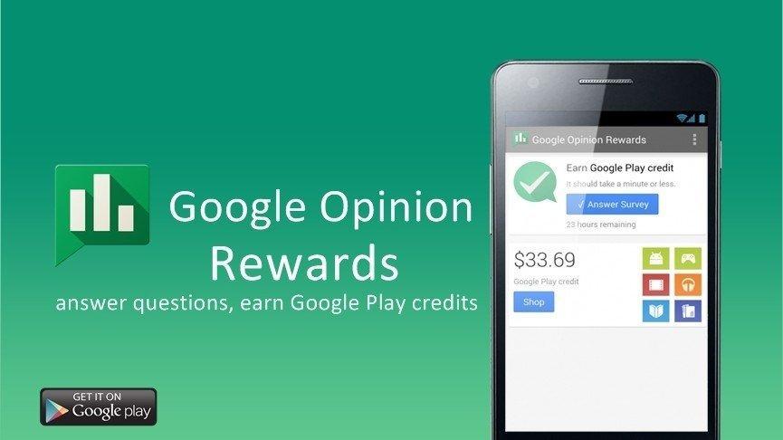 Guadagnare credito per il Google Play Store? Semplice, con Google Opinion Rewards!