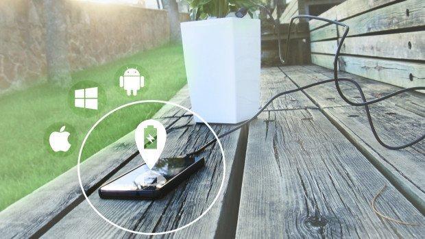 Ricaricare lo smartphone con una pianta? Facile, con Bioo Lite!