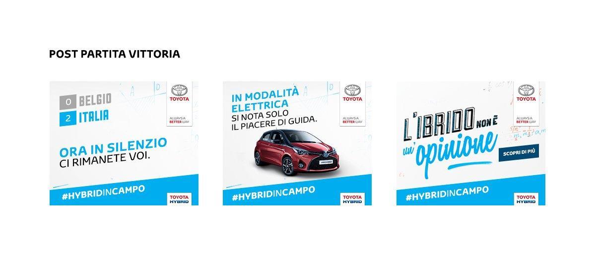 Toyota: la campagna digital che reagisce ai risultati degli europei