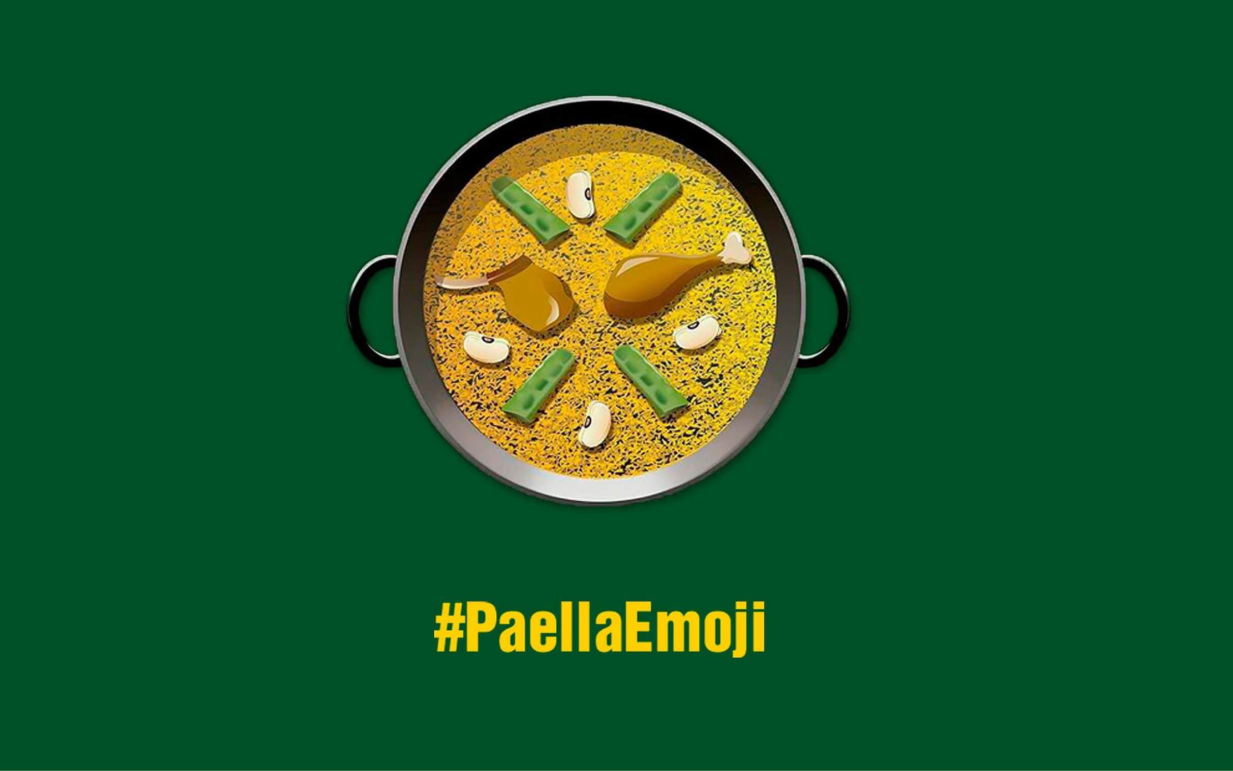 Social Paella emoji