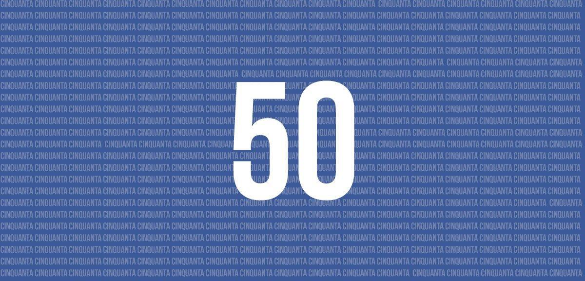 La regola del 50: per avere successo su Facebook