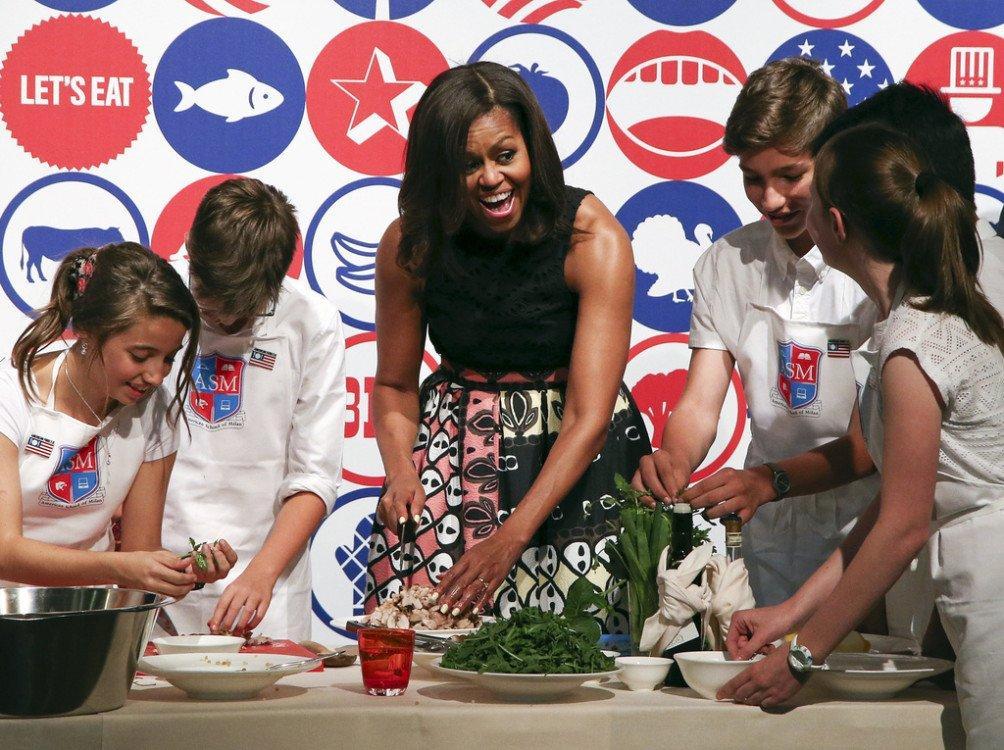 Michelle Obama e il marketing che renderà l'America più sana