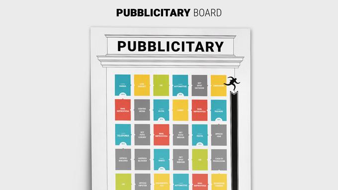 Pubblicitary: l'agenzia pubblicitaria diventa un gioco da tavolo