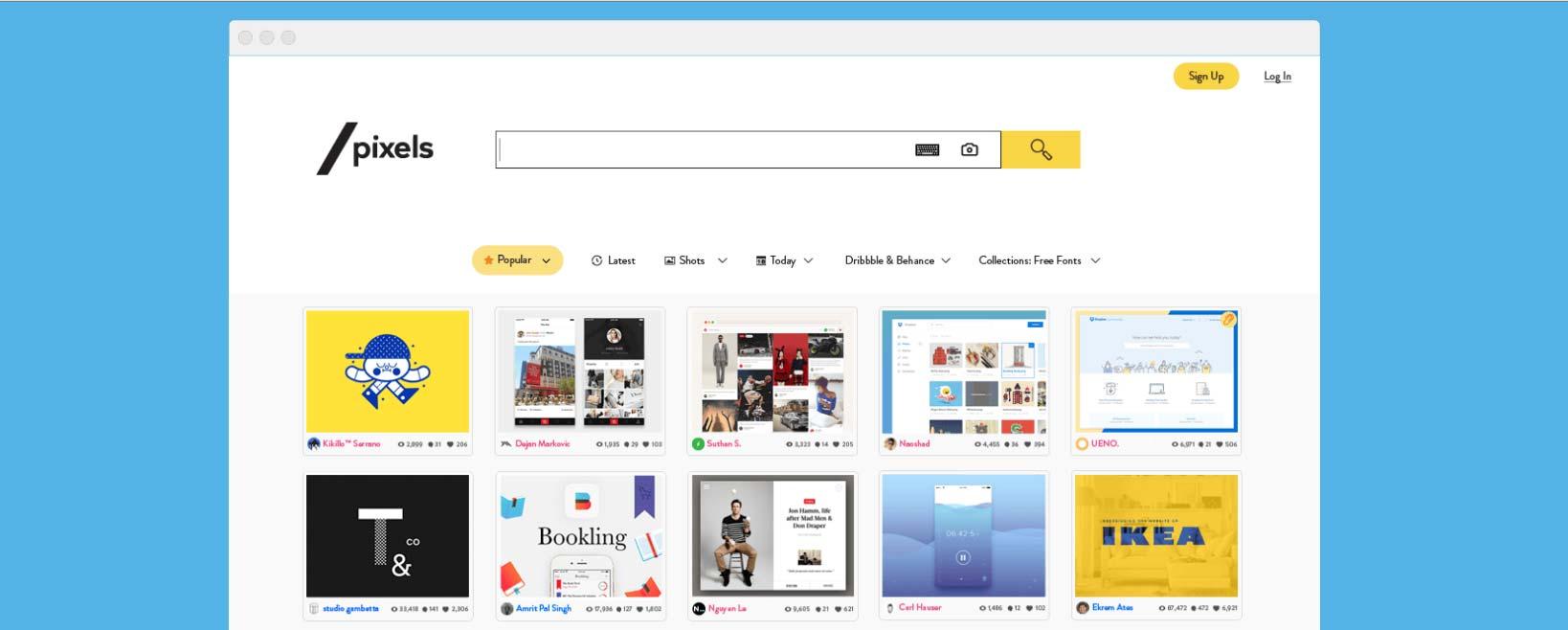 SlashPixels: il Google per Designer sbarca su Indiegogo
