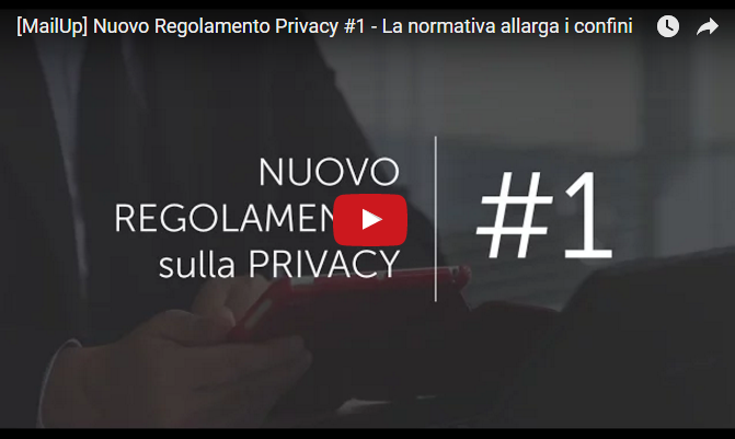 video pillola privacy MailUp 1