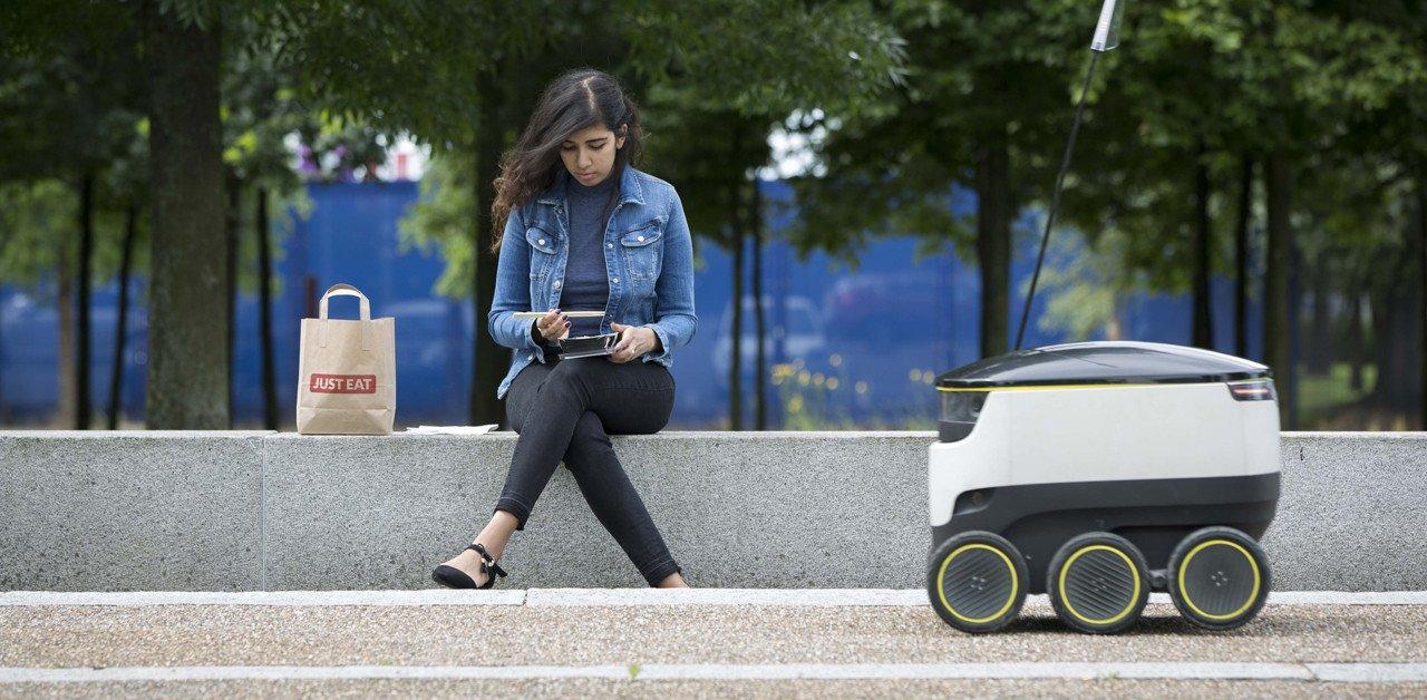 Arriva il robot fattorino per le consegne a domicilio