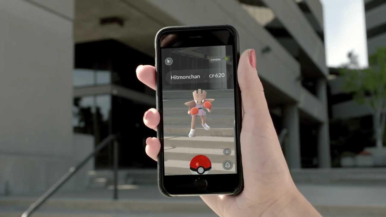 realtà aumentata di Pokémon Go
