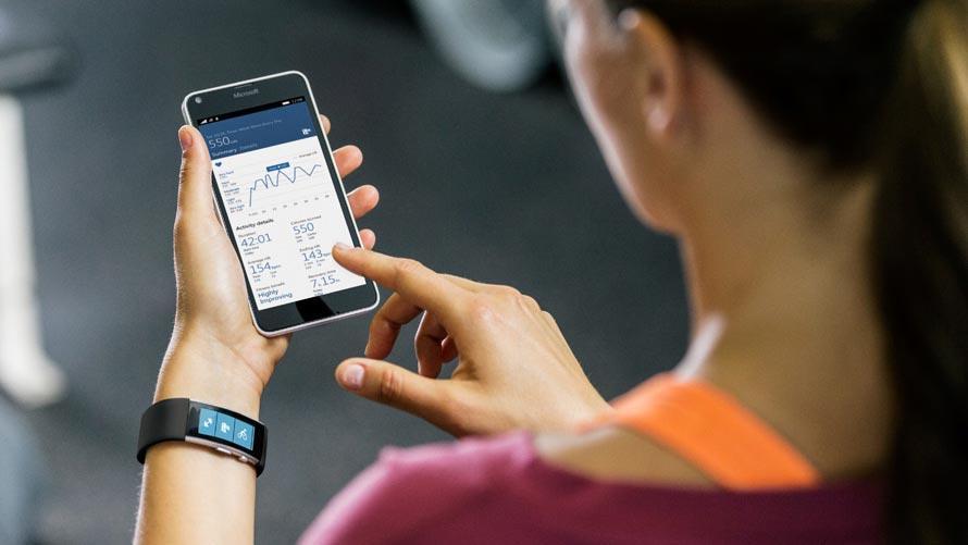 L'app Microsoft Health diventa Microsoft Band