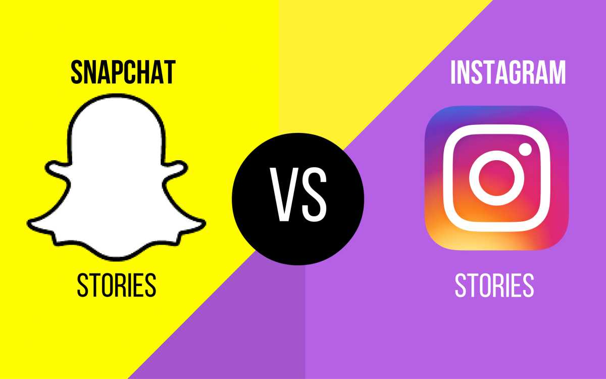 Instagram Stories vs Snapchat Stories