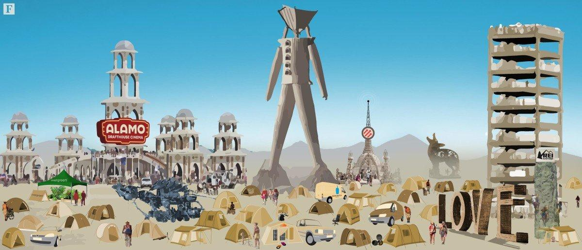 The Burning Man, come i brand accendono i Burners