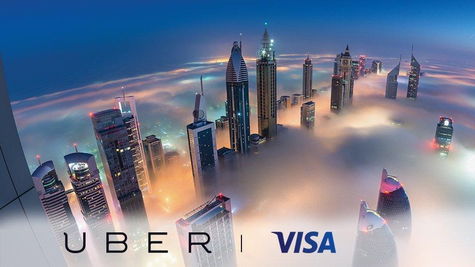 Paga con Visa e guadagna una corsa con Uber Local Offers