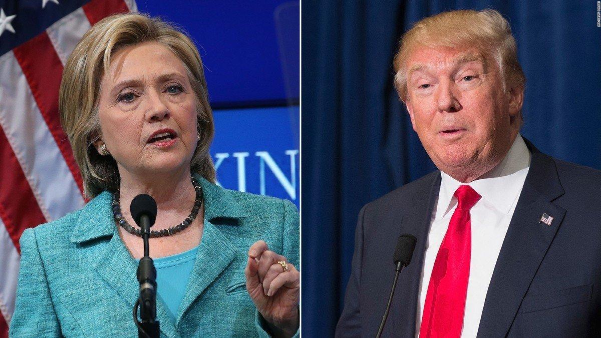 Dibattito Clinton Trump, scontro in tv