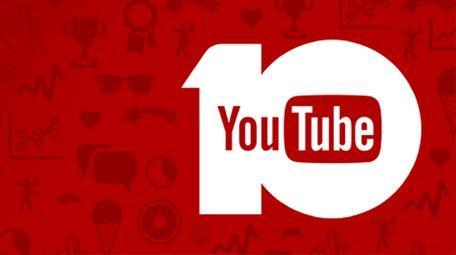 YouTube 10 years