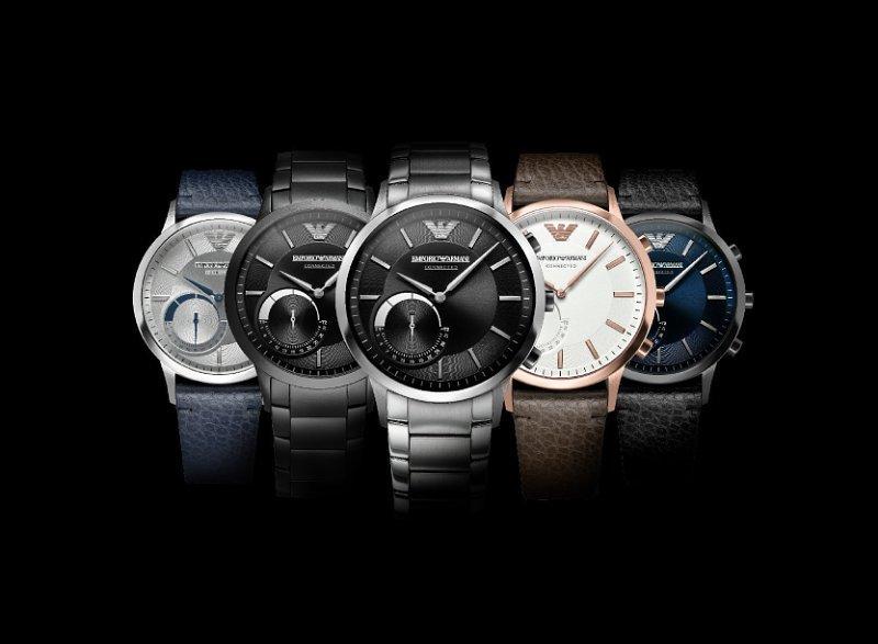 """Emporio Armani Connected: una nuova linea di orologi """"ibridi"""""""