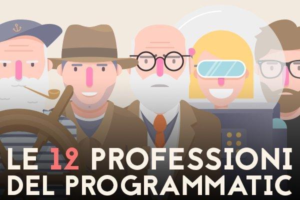 Le 12 professioni del programmatic