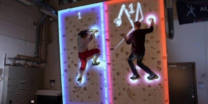 Augmented Climbing Wall: ecco le superfici verticali interattive grazie alla Realtà Aumentata
