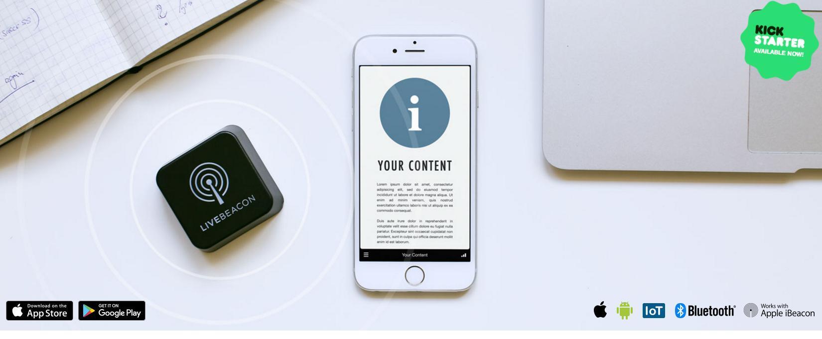 Crea il tuo percorso narrativo personalizzato, con Live Beacon