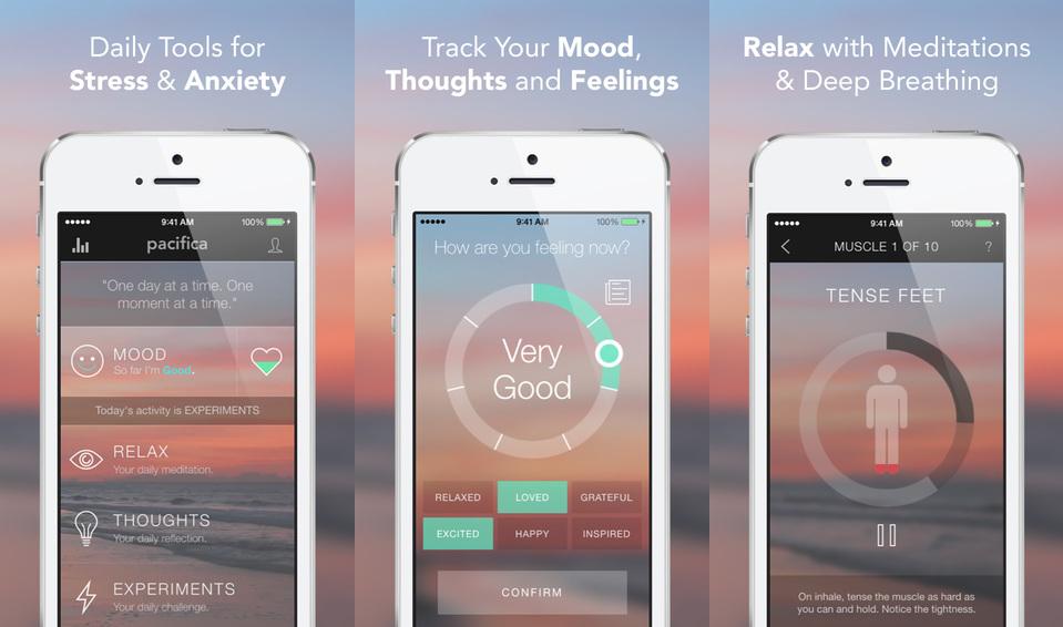 Ansia e stress? C'è un app anche per questo!