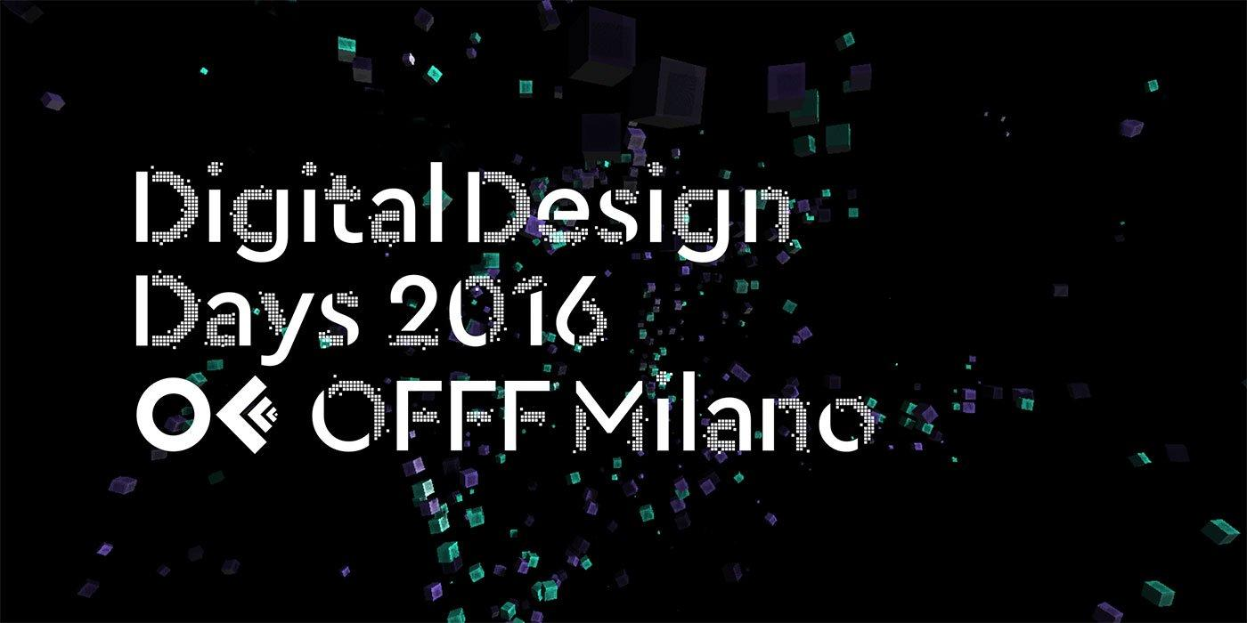 Digital Design Days 2016, Milano torna capitale del design