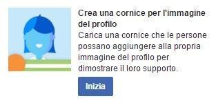 invito cornice profilo facebook