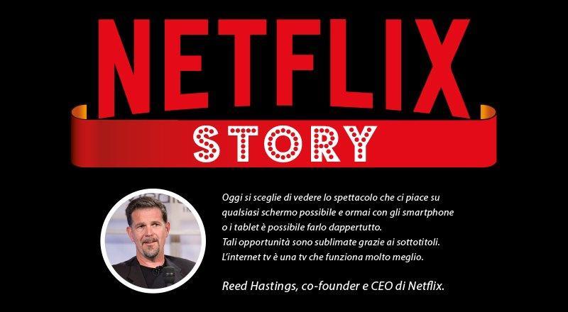 storia di Netflix