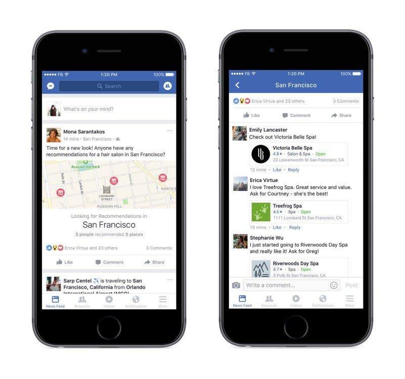 Ora su Facebook i tuoi amici possono consigliarti cosa fare