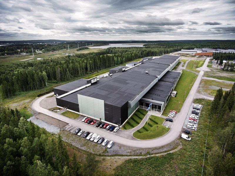 Il Datacenter di Lulea, in Svezia