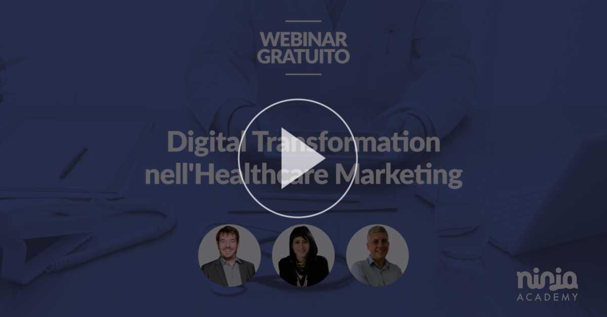 Digital Tranformation nell'Healthcare Marketing