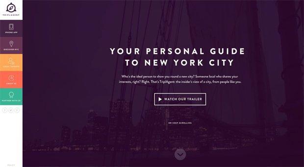 colori nel web design_viola