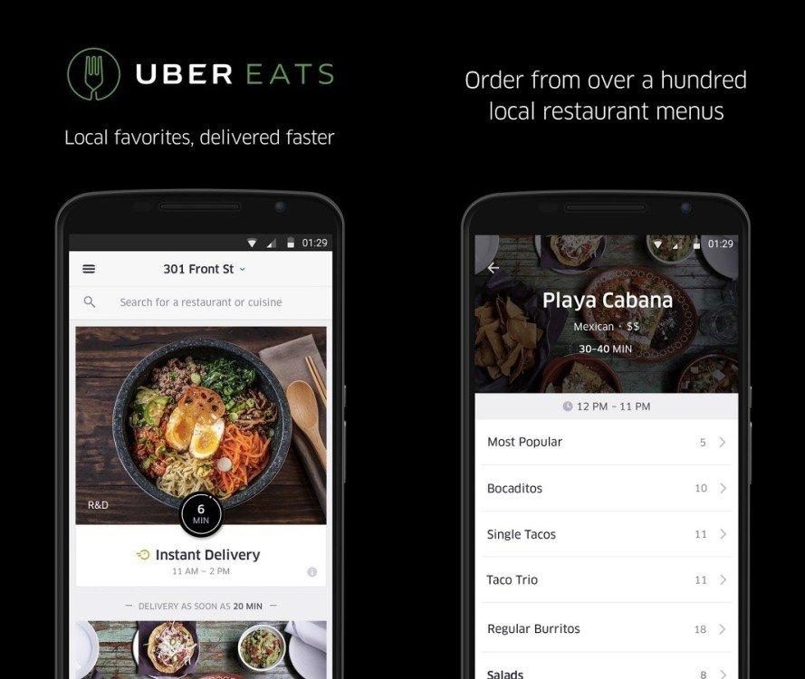 UberEATS, il food delivery travolge la sharing economy