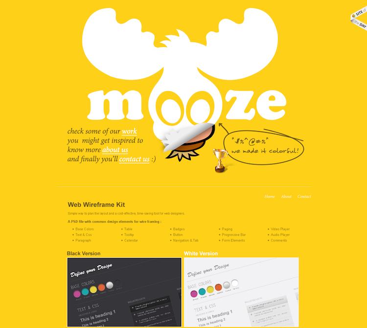 colori nel web design_giallo