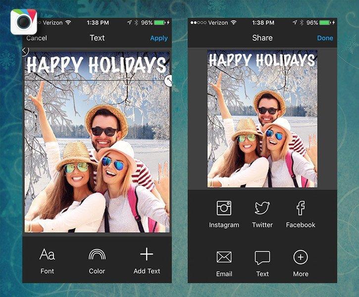 Biglietti Di Natale On Line.Come Creare Cartoline Di Natale Perfette Con Il Tuo Smartphone