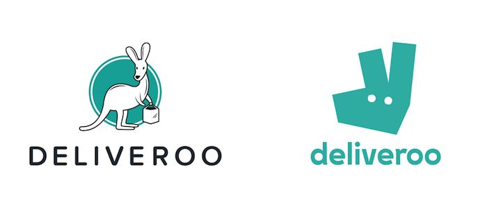 rebranding deliveroo