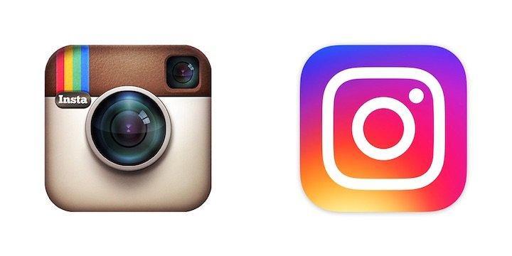 rebranding del 2016 instagram