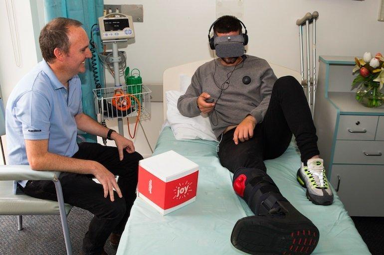 Joy, la realtà virtuale allevia la solitudine in ospedale