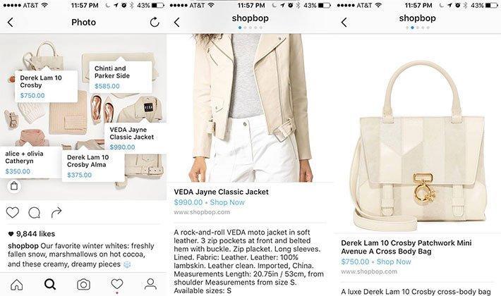 shopbop instagram