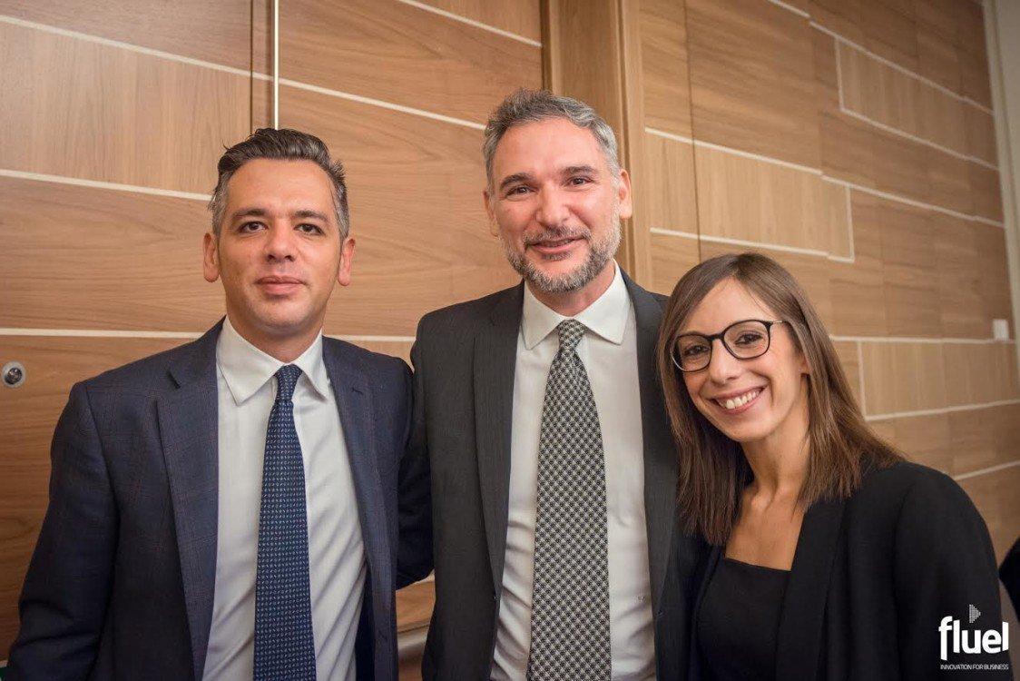 Da sinistra: Aldo Razzino, Salvatore Palange e Michela Pollazzon (© Fuel).
