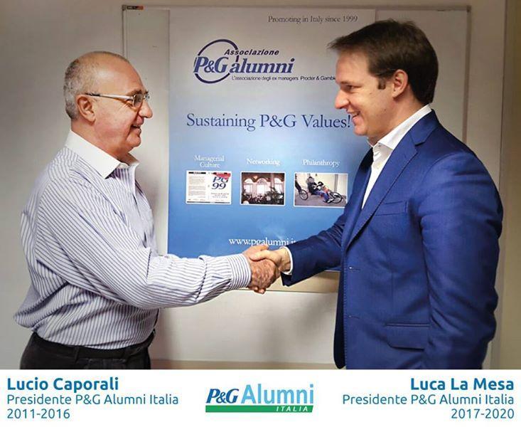 Luca La Mesa P&G Alumni Italia