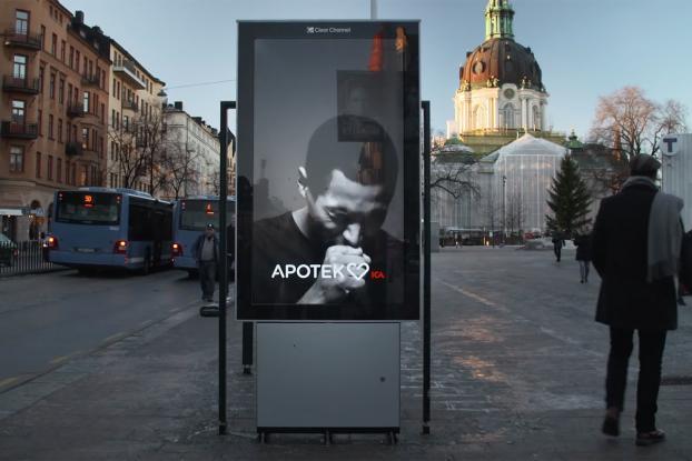apotek farmacie svezia pubblicità che tossisce
