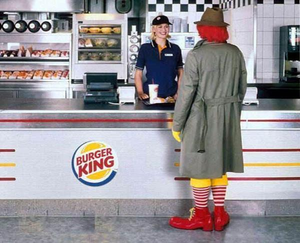 Burger King e McDonald's
