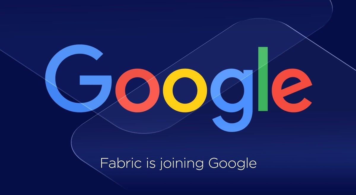 Google acquisisce Fabric, la piattaforma di sviluppo mobile di Twitter