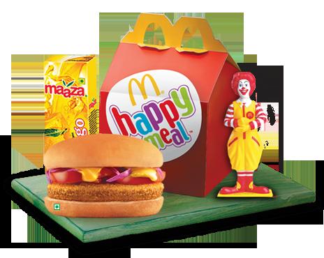 happymeal e Ronald McDonald