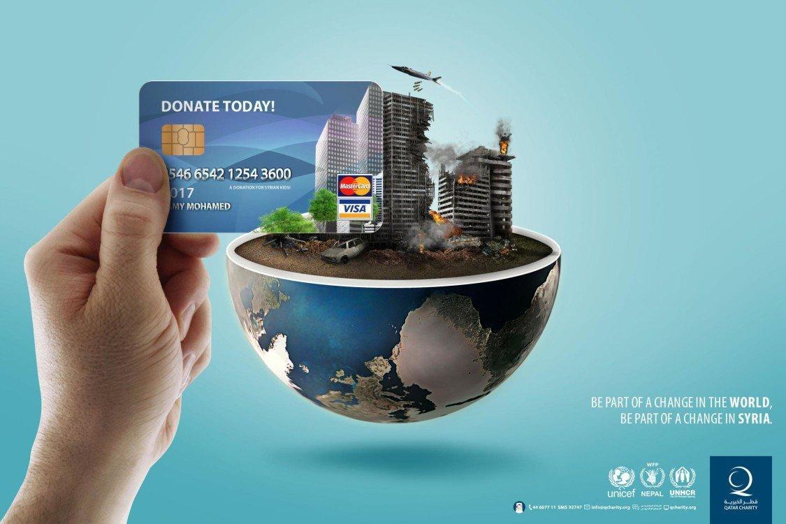 best adv of the week qatar charity