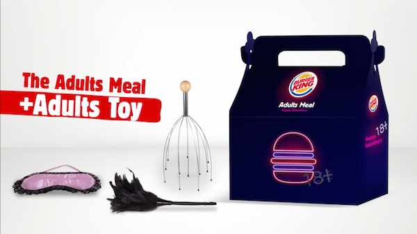 Burger King festeggia San Valentino con un adult meal