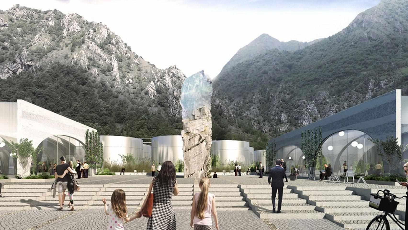 Lo studio di architettura BIG realizzerà il nuovo HQ di San Pellegrino
